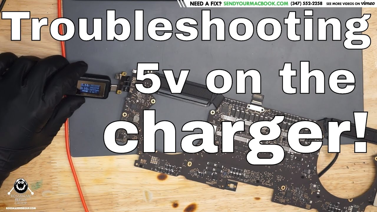Troubleshooting 5v on Touchbar Macbook Pro charger - IMPORTANT INFORMATION  on finding the BAD CD3215