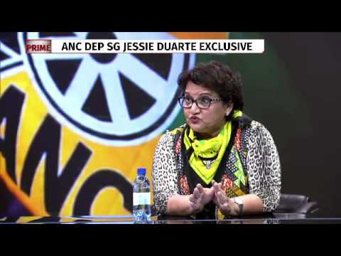 Exclusive interview with Jessie Duarte