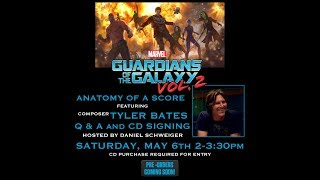 """Tyler Bates """"Guardians of the Galaxy 2"""" Q and A panel discussion"""