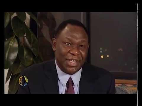 Dr  Bitange Ndemo telling the Kenya Open Data Story