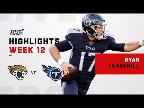 Ryan Tannehill Dismantles Jaguars w/ 259 Yds & 2 TDs | NFL 2019 Highlights