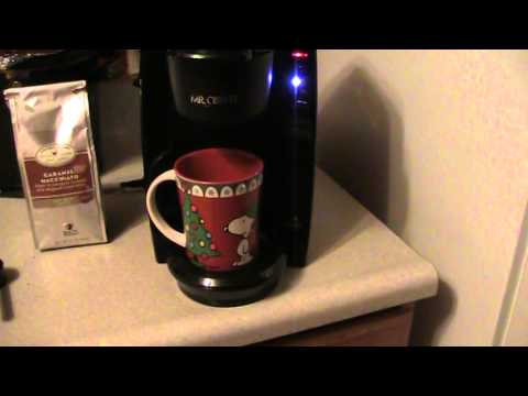 Mr Coffee Single Serve Coffee Brewer Youtube
