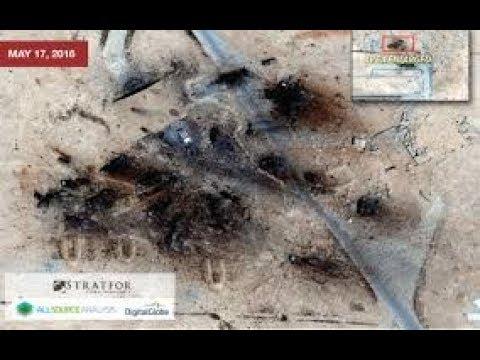 Tên lửa tấn công sân bay quân sự T-4 Syria   Clip siêu hot