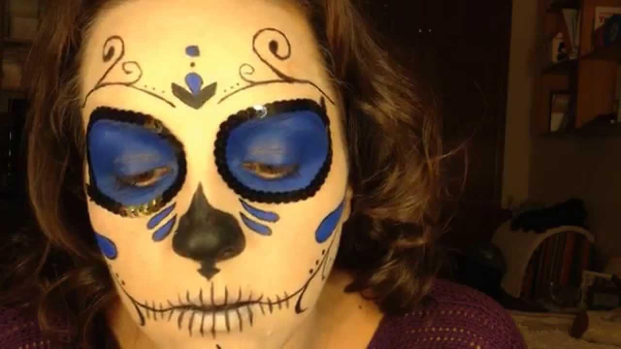 Exceptionnel Maquillaje Halloween 2012 - Catrina (La muerte Mexicana) - YouTube AI36