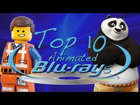 Top 10 BEST Blu-rays (Non-Disney Animation)