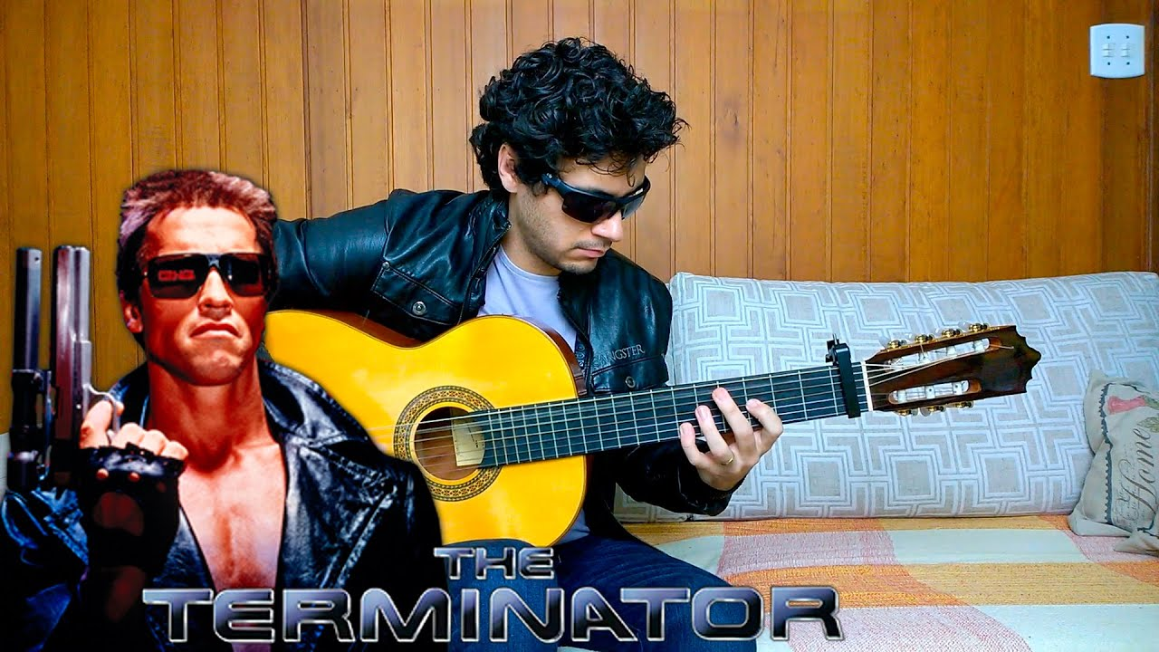 The Terminator theme - Fingerstyle Guitar (Marcos Kaiser) #62