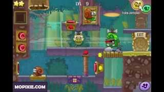 Snail Bob 8: Island Story - Walkthrough ( Levels 1 - 10 )