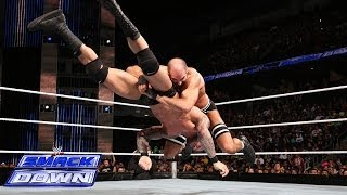Cesaro vs. Randy Orton: SmackDown, Feb. 14, 2014