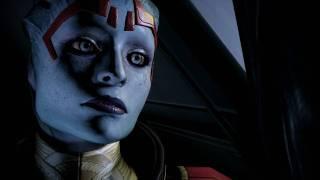 Mass Effect 2: Female shepard attempts sex with Samara.[hd]