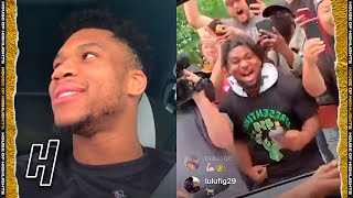 FULL : Giannis Antetokounmpo Went To Chick-fil-A After Winning A Championship 😂