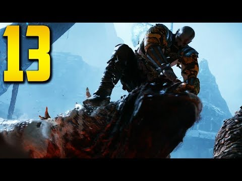 "GOD OF WAR 4 - Part 13 ""THE GIANT"" (Gameplay/Walkthrough)"
