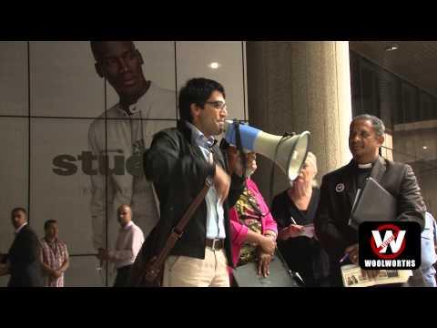 Muhammed Deasi; BDS South Africa coordinator & Activist Shareholder