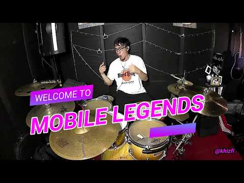 khizfi - Mobile Legends (Drum Cover)
