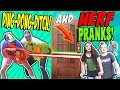 FUNNY PRANKS Before BACK TO SCHOOL.COOL .NERF, FUNKEE BUNCH DOG ATTACK!!