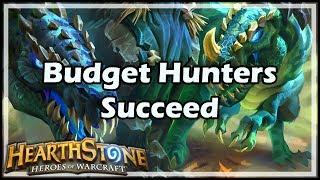 [Hearthstone] Budget Hunters Succeed
