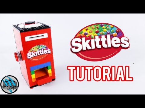 How to build a Mini Lego Skittles Machine | Tutorial