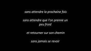 Marc Dupré Aimons-nous sans attendre lyrics