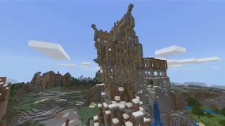 Minecraft Bedrock Edition - Survival - CobbleOak Spire Tower