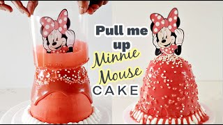 How to make Pull me up doll Cake  Best Trending  Minnie Mouse cake  Tsunami cake  Lava Cake