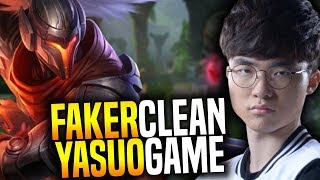 Video FAKER Plays YASUO and it's so CLEAN! - SKT T1 Faker SoloQ Playing Yasuo Mid!   SKT T1 Replays download MP3, 3GP, MP4, WEBM, AVI, FLV Januari 2018