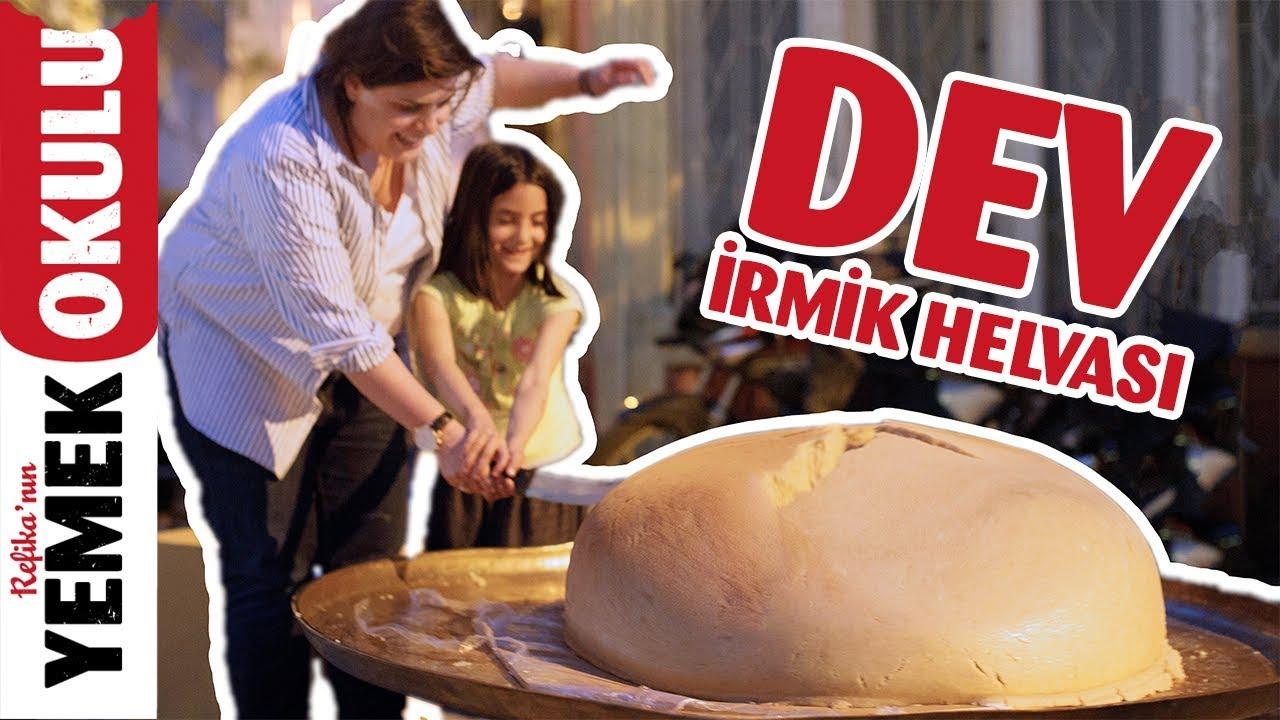 Dünyanın En Büyük İrmik Helvası!   Ramazan Bereketi İle İftarda Helva Dağıttık
