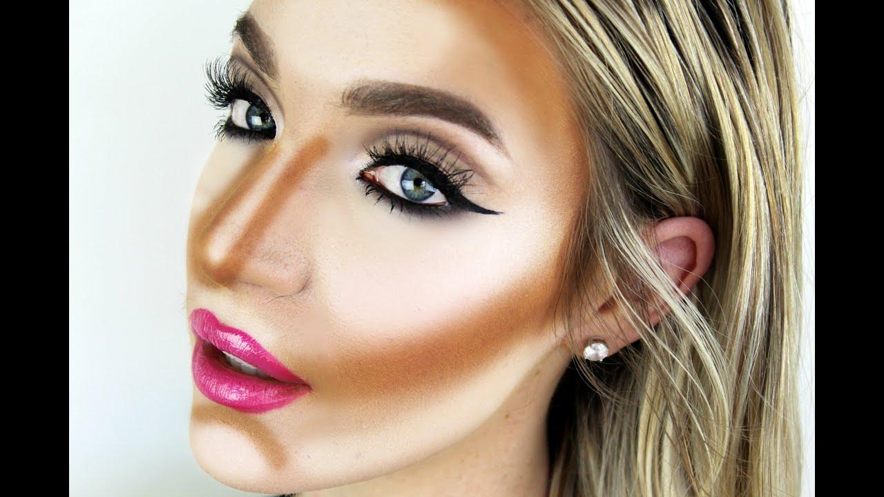 how to contour highlight using creams liquids