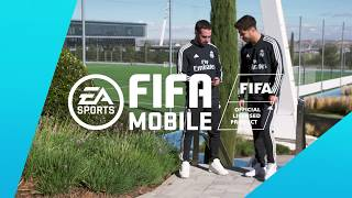 Play like the Real Madrid players on the go with #FIFAMobile