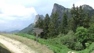 Mooie rit vanaf Camping International  Du Lac Bleu Doussard aan het meer van Annecy