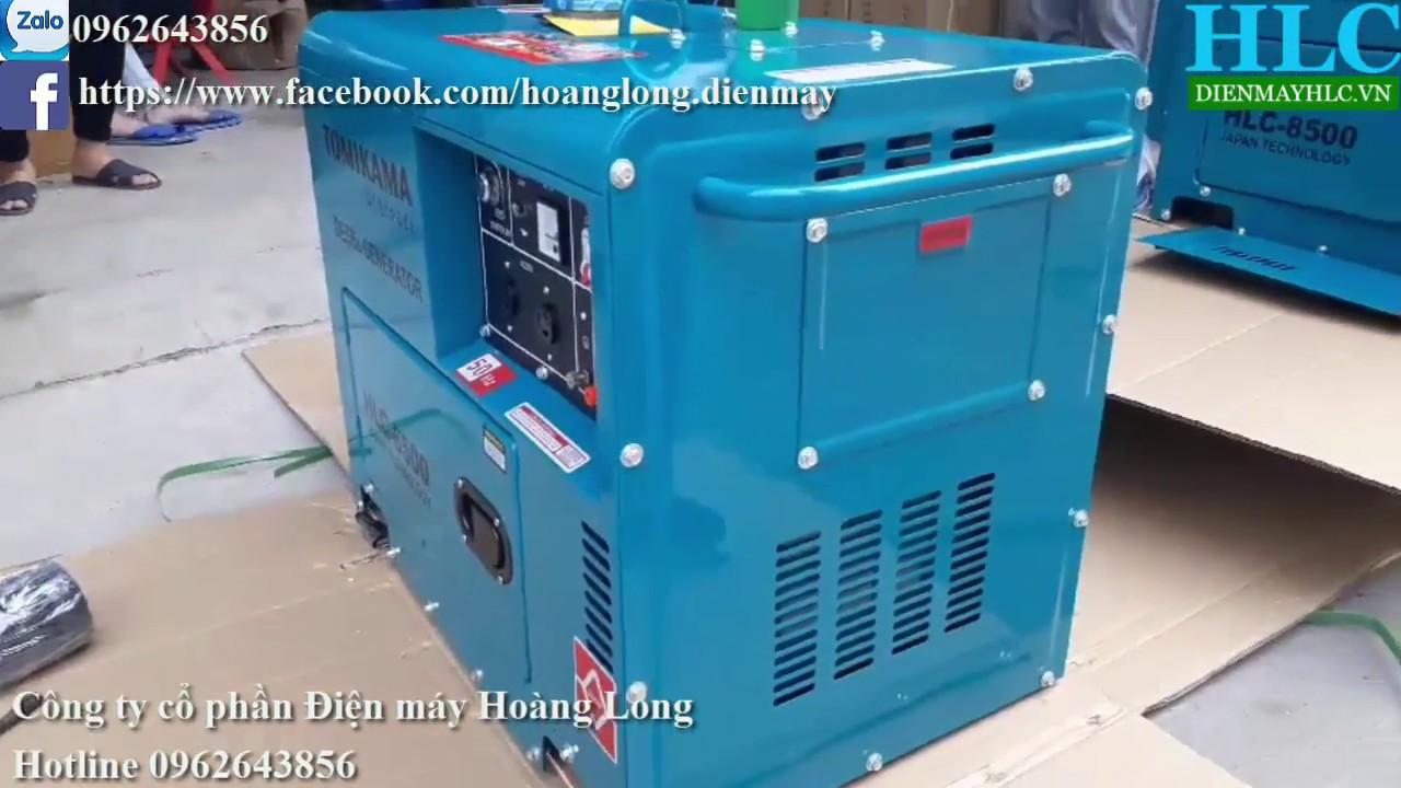 Bộ đôi Siêu phẩm máy phát điện chạy dầu Tomikama chống ồn cao, công suất tải đủ tốt nhất - YouTube