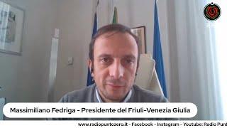 Massimiliano fedriga a radio punto zero (28.01.2021)
