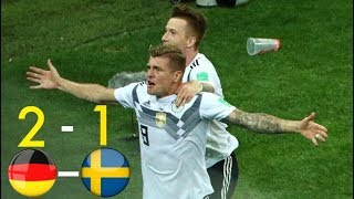 Germany vs Sweden 2 1 All Goals & Extended Highlights WC 2018