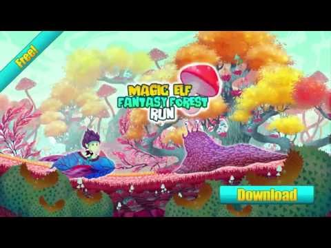Magic Elf Fantasy Forest Run