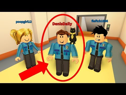 PRISONER PRETENDS TO BE A POLICE OFFICER! - Roblox Jailbreak Prank