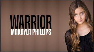 Makayla Phillips - Warrior (America's Got Talent 2018 Golden Buzzer)(Lyrics)