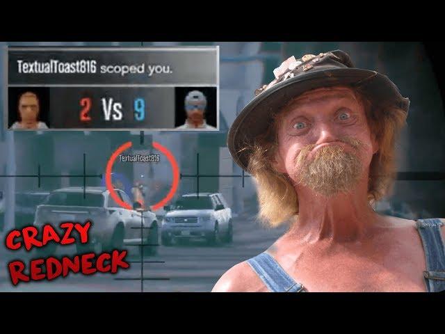 Crazy Redneck Tryhard Rages (GTA 5 Online)