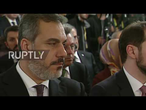 Turkey: Russia and Turkey sign 'Turkish Stream' accord