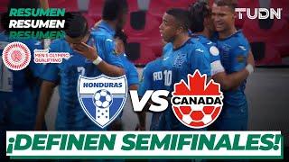 Resumen y goles   Honduras vs Canadá   Preolímpico Tokyo 2020   TUDN