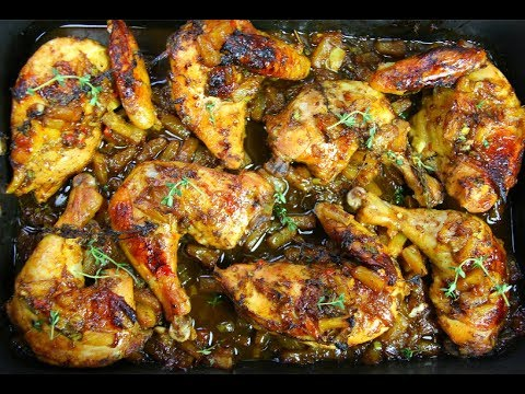 Amazing Pineapple Jerk Chicken | CaribbeanPot.com