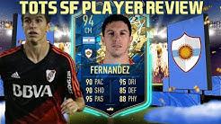THE ARGENTINE GULLIT! 94 TOTSSF IGNACIO FERNANDEZ PLAYER REVIEW! FIFA 20 ULTIMATE TEAM