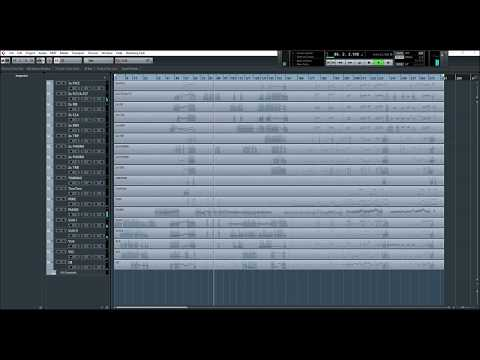 EastWest Orchestra / Hollywood Strings / Piano - Cubase project very realistic performance
