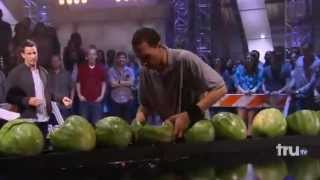 Trizz's Watermelon Head Smash - Guinness World Records® Gone Wild