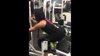 GLUTE Hip Abductor machine
