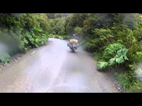 Patagonia Tour: Day 5 - Rain and off road while riding Carretera Austral