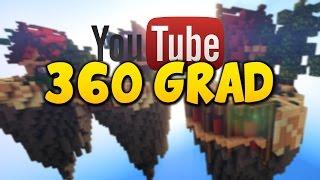 Mein erstes 360 Grad Minecraft Video - Nur ein Test [Mit Kamerafahrt]