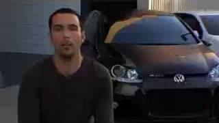 VW Golf R GTi Concept Car