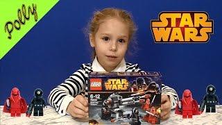 Мультфильм и обзор LEGO 75034 Star Wars  Death Star Troopers ! Воины Звезды Смерти собирают пушку!