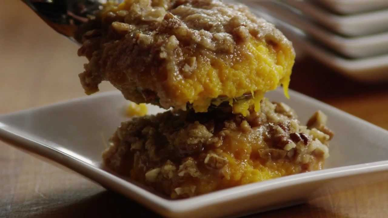 How To Make Delicious Sweet Potato Casserole Youtube