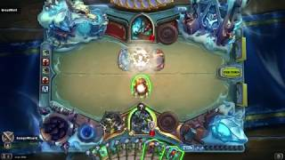 Hearthstone: Some Knights of the Frozen Throne Expansion Gameplay