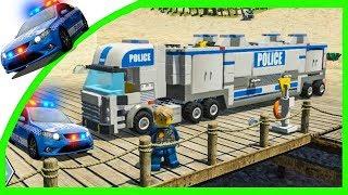 ПОЛИЦЕЙСКИЙ ГРУЗОВИК в Мультик Игре LEGO City Undercover 8-серия
