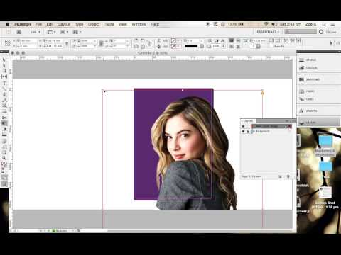 How to use InDesign to create your Magazine Front Cover